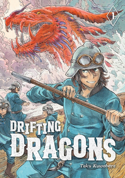 Drifting Dragons Manga Volume 1