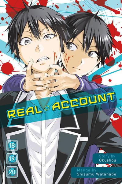 Real Account Manga Omnibus Volume 18-20