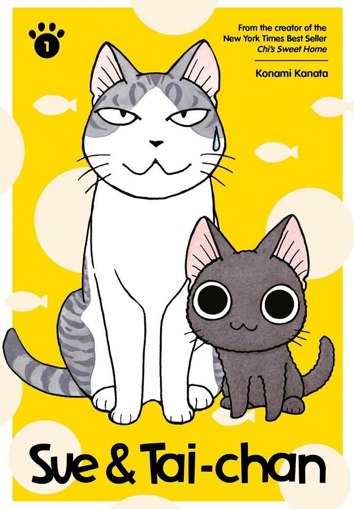 Sue & Tai-chan Manga Volume 1 (Color)