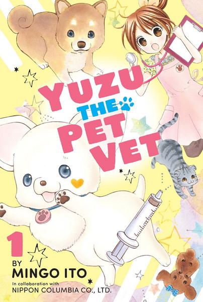 Yuzu the Pet Vet Manga Volume 1