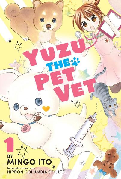 Yuzu the Pet Vet Manga Volume 1