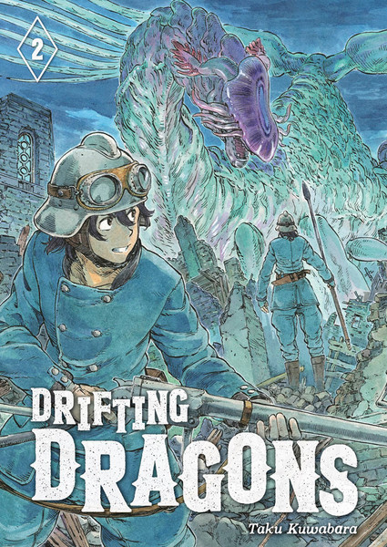 Drifting Dragons Manga Volume 2
