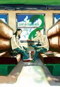 Saint Young Men Manga Omnibus Volume 2 (Hardcover)