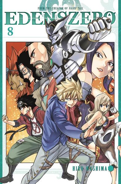 Edens Zero Manga Volume 8