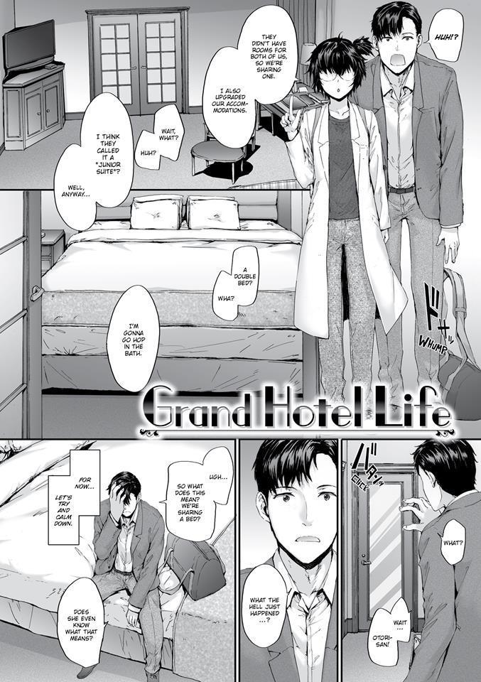 Grand Hotel Life Manga