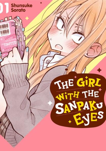 The Girl with the Sanpaku Eyes Manga Volume 1 (Color)