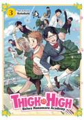 Thigh High Reiwa Hanamaru Academy Manga Volume 3
