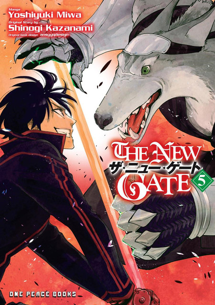 The New Gate Manga Volume 5