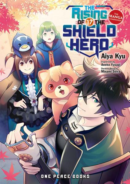 The Rising of the Shield Hero Manga Volume 17