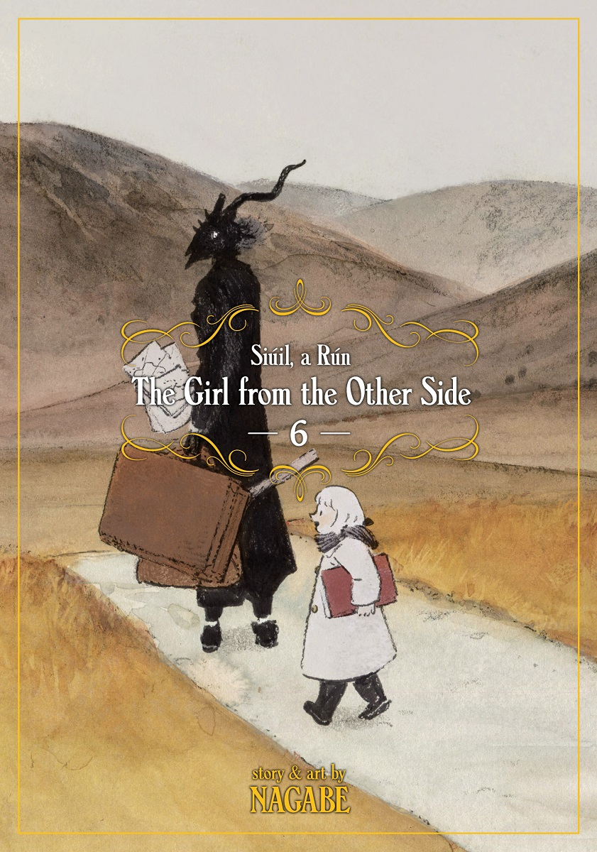 The Girl From the Other Side Siuil a Run Manga Volume 6