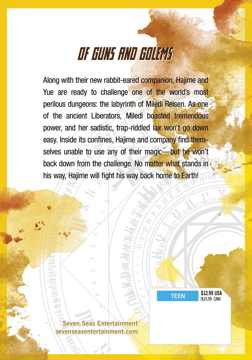Arifureta From Commonplace To World's Strongest Manga Volume 4