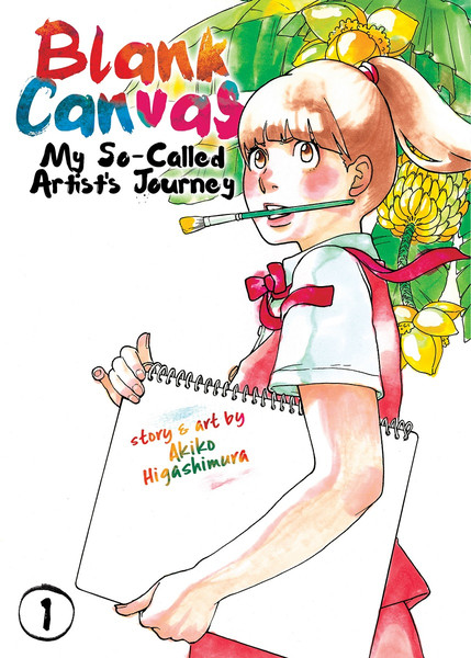 Blank Canvas My So-Called Artist's Journey Manga Volume 1