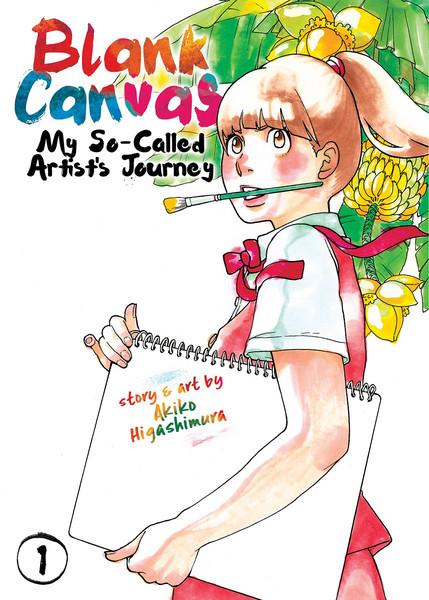 Blank Canvas My So-Called Artist's Journey Manga Volume 1