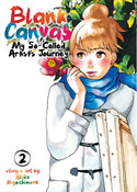 Blank Canvas My So-Called Artist's Journey Manga Volume 2
