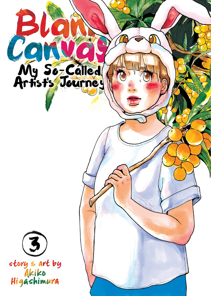 Blank Canvas My So-Called Artists Journey Manga Volume 3