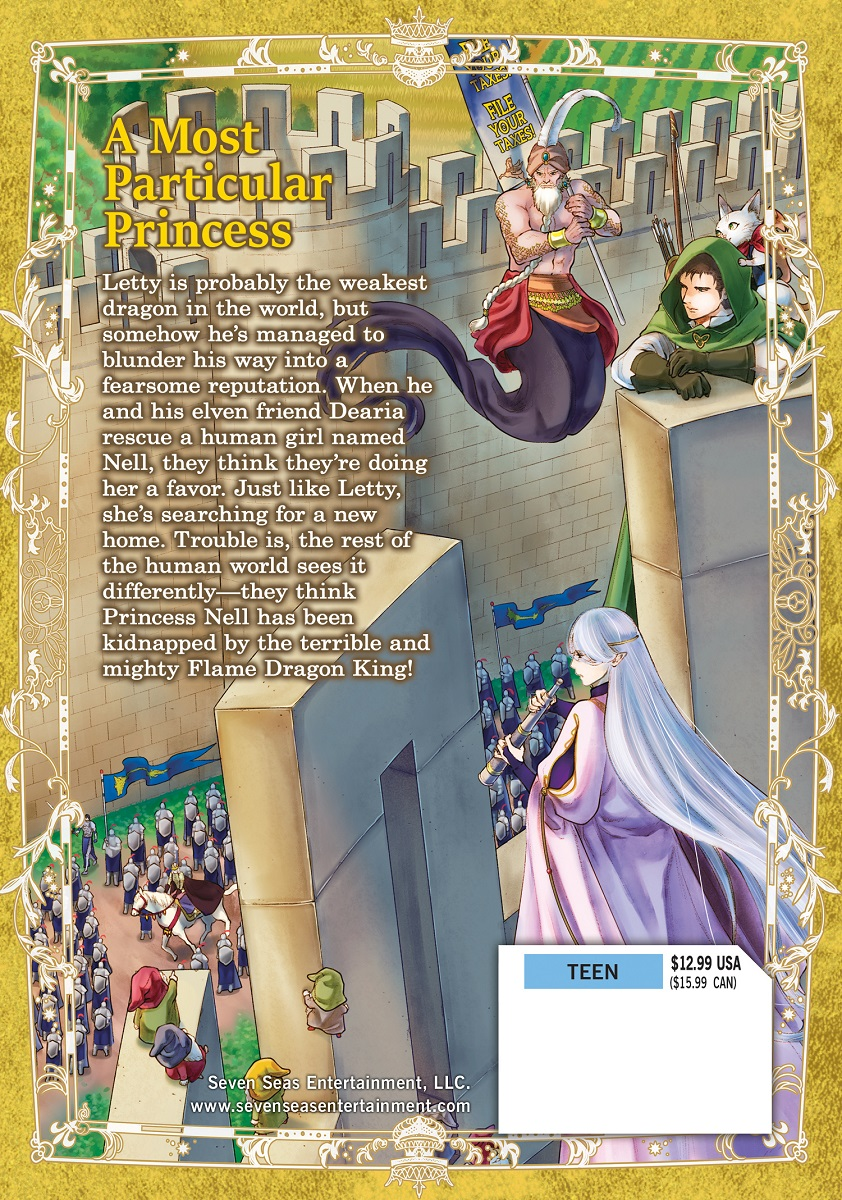 Dragon Goes House Hunting Manga Volume 3