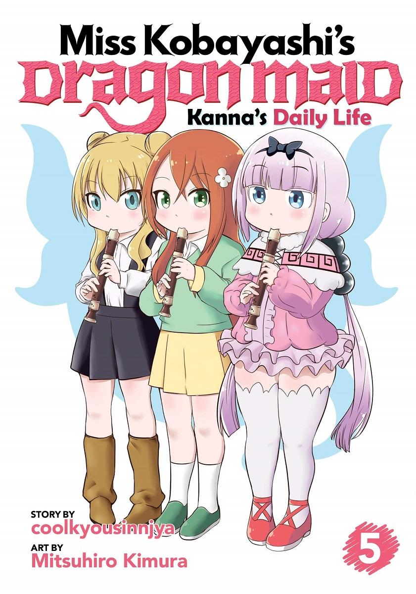 Miss Kobayashi's Dragon Maid Kanna's Daily Life Manga Volume 5