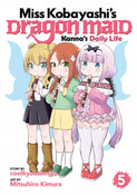 Miss Kobayashi's Dragon Maid Kanna's Daily Life Manga Volume 5