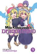 Miss Kobayashi's Dragon Maid Manga Volume 9