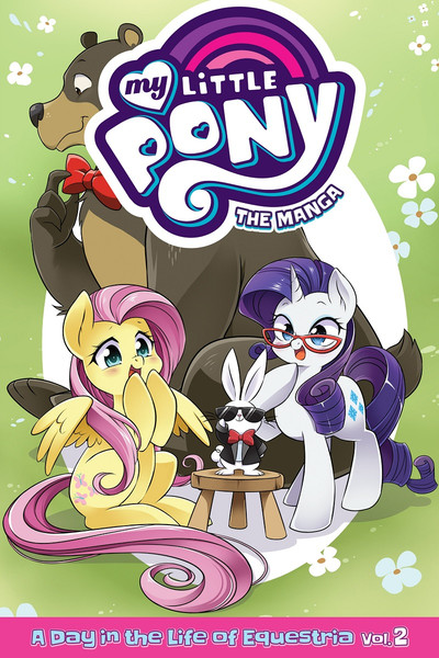 My Little Pony A Day in the Life of Equestria Manga Volume 2