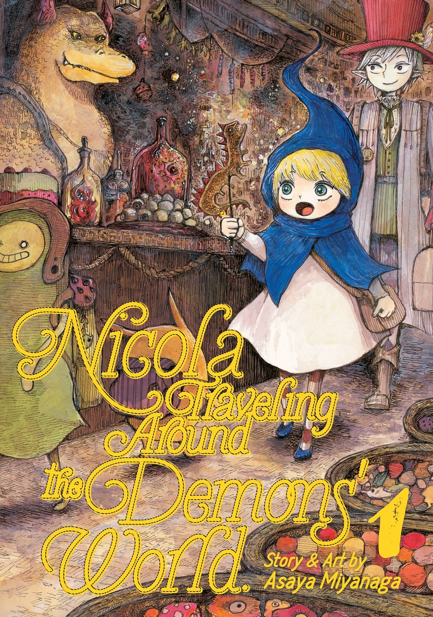 Nicola Traveling Around the Demons' World Manga Volume 1