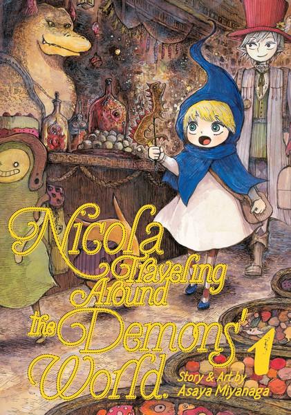 Nicola Traveling Around the Demons' World Manga Volume 1
