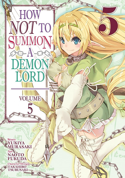 How NOT to Summon a Demon Lord Manga Volume 5