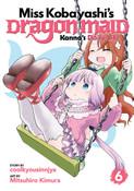 Miss Kobayashi's Dragon Maid Kanna's Daily Life Manga Volume 6
