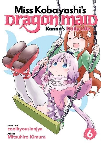 Miss Kobayashi's Dragon Maid Kannas Daily Life Manga Volume 6