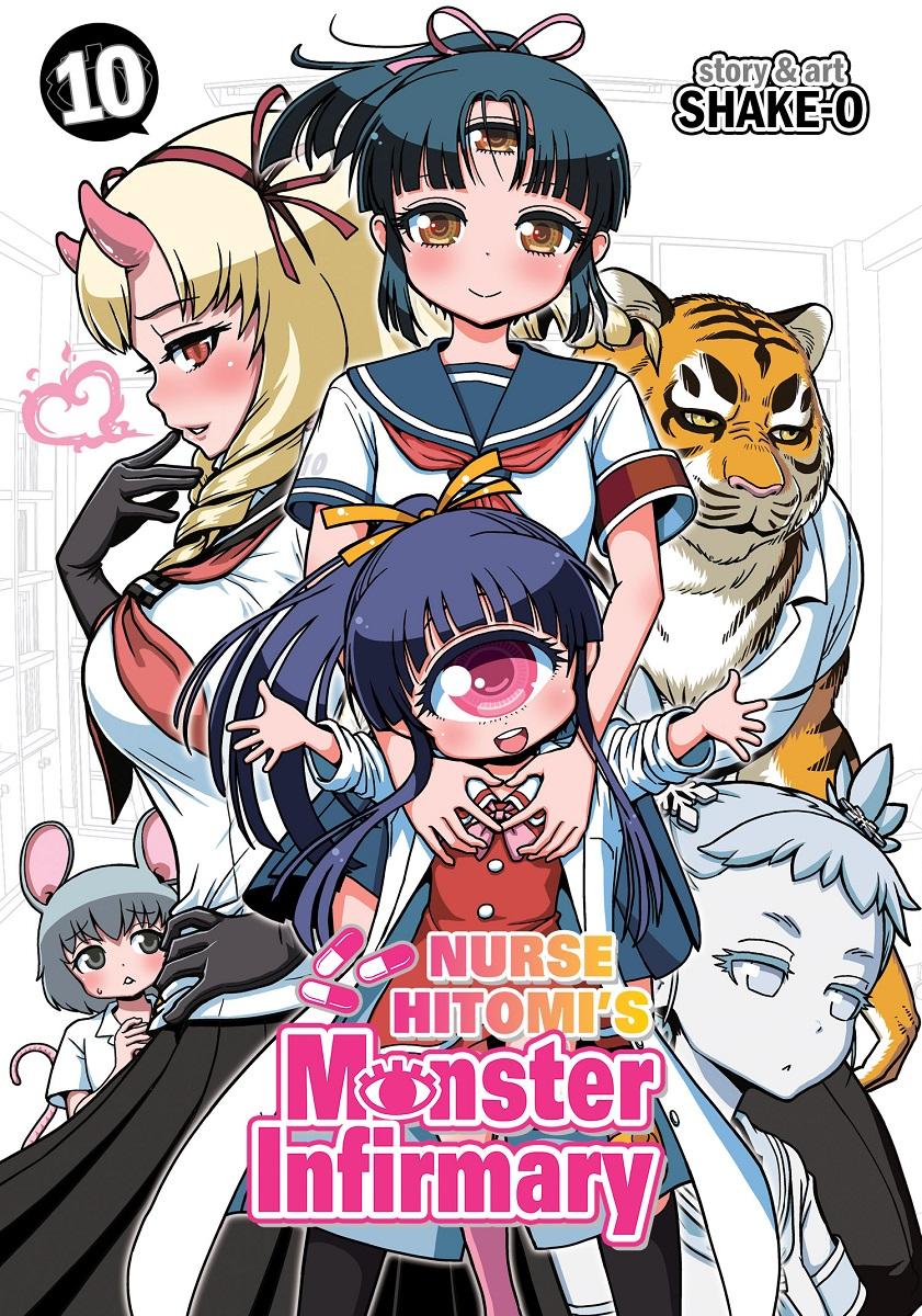 Nurse Hitomi's Monster Infirmary Manga Volume 10