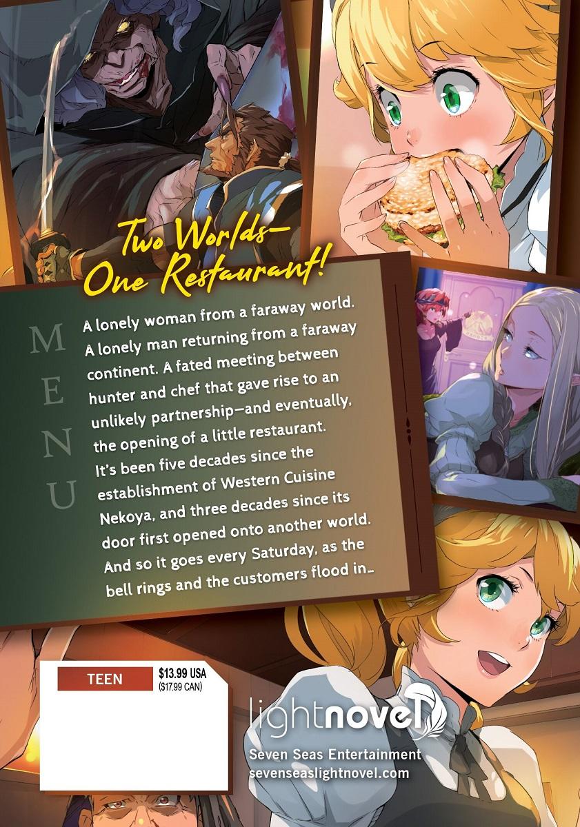 Restaurant To Another World Novel Volume 4