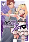 Arifureta From Commonplace To World's Strongest Zero Manga 3