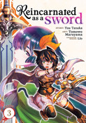 Reincarnated as a Sword Manga Volume 3