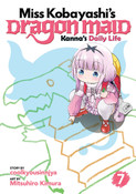 Miss Kobayashi's Dragon Maid Kanna's Daily Life Manga Volume 7