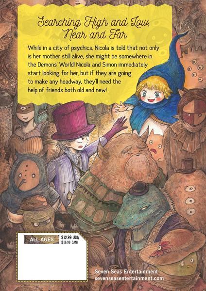 Nicola Traveling Around the Demons' World Manga Volume 3