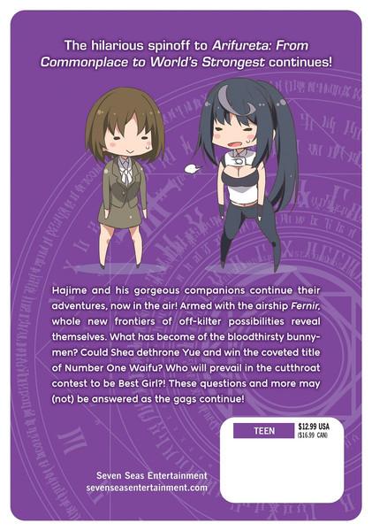 Arifureta I Heart Isekai Manga Volume 3
