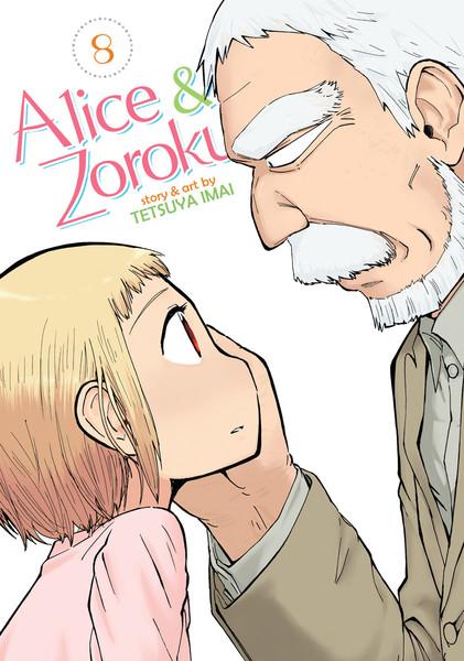 Alice and Zoroku Manga Volume 8