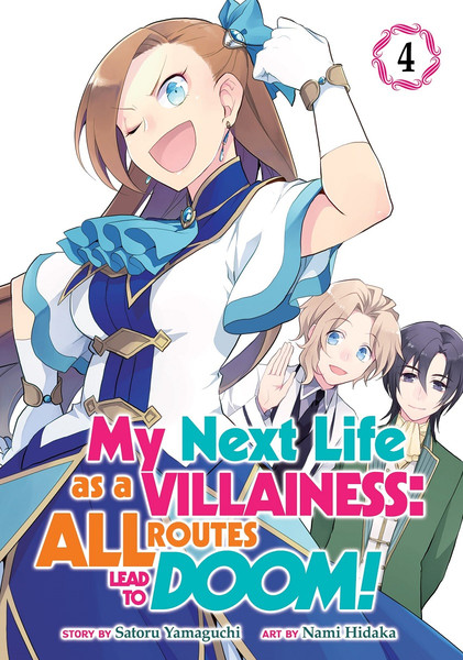 My Next Life as a Villainess All Routes Lead to Doom! Manga Volume 4