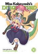 Miss Kobayashi's Dragon Maid Manga Volume 10