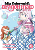 Miss Kobayashi's Dragon Maid Kanna's Daily Life Manga Volume 8