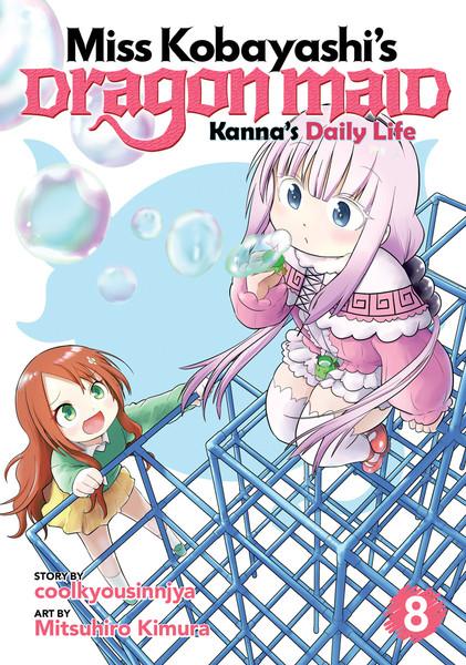 Miss Kobayashi's Dragon Maid Kanna's Daily Life Manga Volume 8