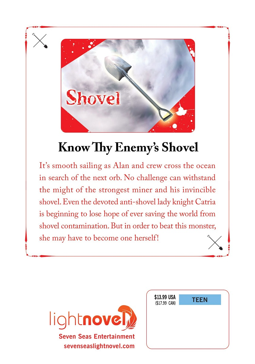 The Invincible Shovel Novel Volume 3