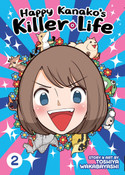 Happy Kanako's Killer Life Manga Volume 2 (Color)