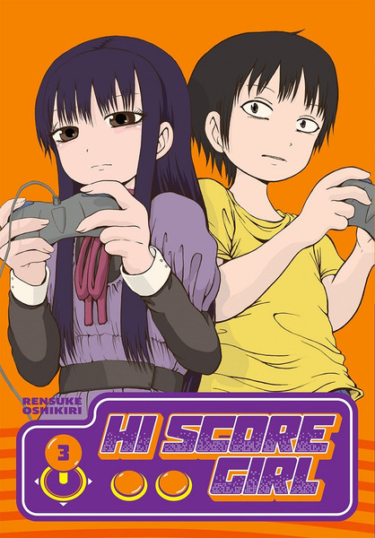 Hi Score Girl Manga Volume 3