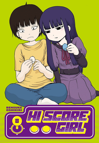 Hi Score Girl Manga Volume 8