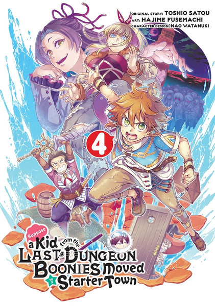 Suppose a Kid from the Last Dungeon Boonies Moved to a Starter Town Manga Volume 4