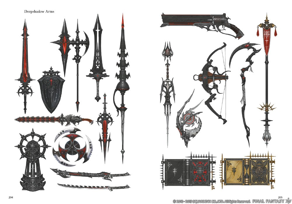 Final Fantasy XIV Shadowbringers Artbook
