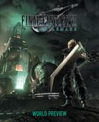 Final Fantasy VII Remake World Preview Artbook (Hardcover)