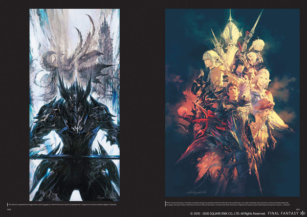 Final Fantasy XIV Heavensward The Art of Ishgard Stone and Steel Artbook