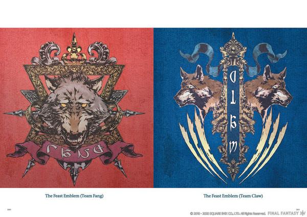 Final Fantasy XIV Heavensward The Art of Ishgard The Scars of War Artbook